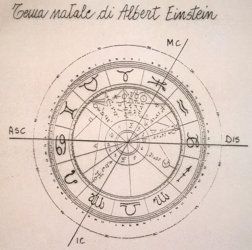 Tema Astrale Einstein Silvia Vaccari